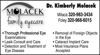 Professiona Eye Examinations