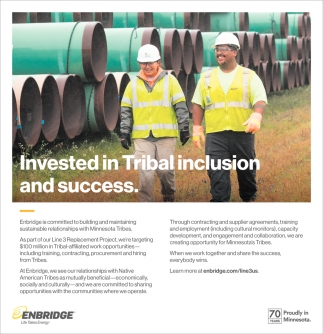 Invested in Tribal Inclusion & Success